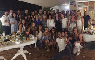 Cena de verano en la Clínica López Giménez (julio 2016)