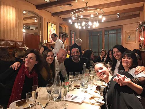 Cena de Navidad en la Clínica López Giménez