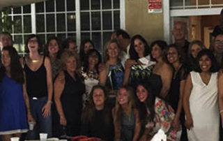 Cena verano 2015. Foto de grupo