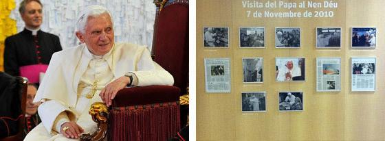 Visita Benedicto XVI