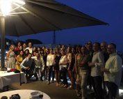 Cena de verano en la Clínica López Giménez